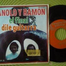 Discos de vinilo: MANOLO Y RAMON (DUO DINAMICO) SINGLE EL FINAL MOVIEPLAY 1971 RARO. Lote 51163778