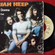 Discos de vinilo: URIAH HEEP, PRIMA DONNA (BRONZE ARIOLA 1975) SINGLE ESPAÑA. Lote 51164759