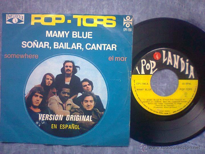 POP TOPS (Música - Discos de Vinilo - EPs - Grupos Españoles de los 70 y 80)