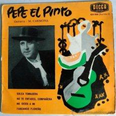 Discos de vinilo: PEPE EL PINTO.. Lote 51167158