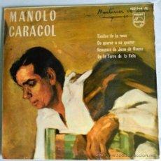 Discos de vinilo: MANOLO CARACOL. Lote 51167515