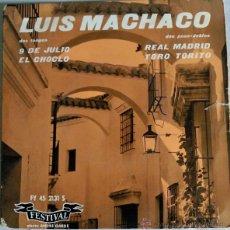 Discos de vinilo: LUIS MACHACO. Lote 51167536