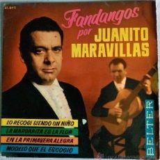 Discos de vinilo: JUANITO MARAVILLAS. Lote 51167606