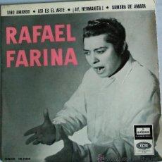 Discos de vinilo: RAFAEL FARINA. Lote 51167751