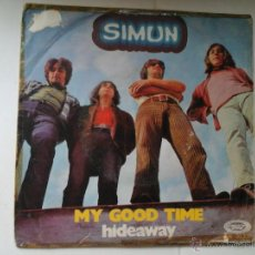 Discos de vinilo: SIMUN. MY GOOD TIME. HIDEWAY. MOVIEPLAY 1970.PROGRESIVO. BLUES ROCK ESPAÑOL. RARO. Lote 51170231