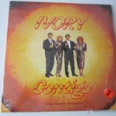 Discos de vinilo: IVORY - CONTIGO 1988 SPAIN 2 X LP. Lote 51170373
