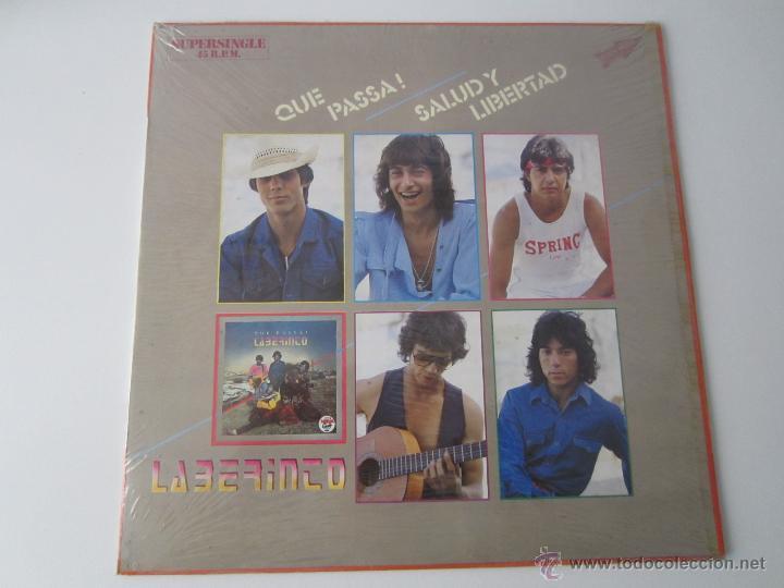 LABERINTO - ¡QUE PASSA! 1983 SPAIN MAXI SINGLE (Música - Discos de Vinilo - Maxi Singles - Flamenco, Canción española y Cuplé)