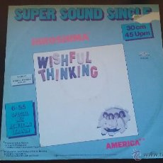 Discos de vinilo: WISHFUL THINKING - HIROSHIMA (SPECIAL MIX NEW LONG VERSION). Lote 51175672