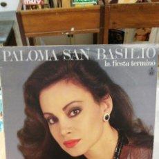 Discos de vinilo: PALOMA SAN BASILIO - LA FIESTA TERMINÓ . Lote 51176647