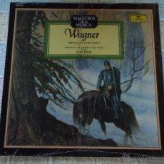 Discos de vinilo: WAGNER; OBERTURAS Y PRELUDIOS ORQUESTA FILARMONICA DE VIENA & KARL BÖHM LP33. Lote 51179386