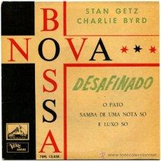 Discos de vinilo: STAN GETZ - CHARLIE BYRD – BOSSA NOVA - EP SPAIN 1962 - LA VOZ DE SU AMO 7EPL 13.858. Lote 51180400