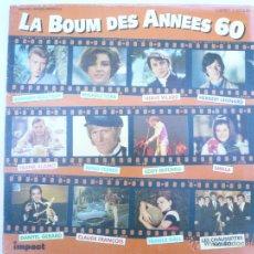 Discos de vinilo: LA BOUM DES ANNEES 60. COFRE 3 VINILOS. Lote 51180789