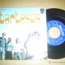 Discos de vinilo: TARTESOS SINGLE BUEN ESTADO. Lote 51181345
