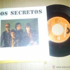 Discos de vinilo: LOS SECRETOS SINGLE. Lote 51183031