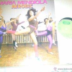 Discos de vinilo: MAXISINGLE MARÍA MENDIOLA. Lote 51183161