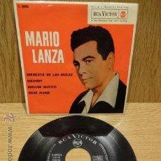 Discos de vinilo: MARIO LANZA. SERENATA DE LAS MULAS. EP / RCA-VICTOR - 1962. BUENA CALIDAD. ***/***. Lote 51183358