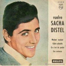 Discos de vinilo: SACHA DISTEL, EP, MADAM, MADAM + 3, AÑO 1961. Lote 51183672