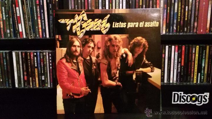 TIGRES - LISTOS PARA EL ASALTO (Música - Discos - LP Vinilo - Heavy - Metal)