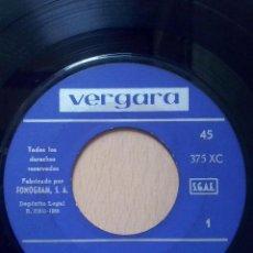 los flecos- estas lejos +3- ep vergara 1965- solo disco