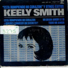 Discos de vinilo: KEELY SMITH / AND I LOVE HER (3 VERSIONES BEATLES) + 1 (EP 1965). Lote 51189283