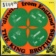 Discos de vinilo: THE KING BROTHERS / MY MAMMY / SOME OF THESE DAYS + 2 (EP 1967). Lote 51189387