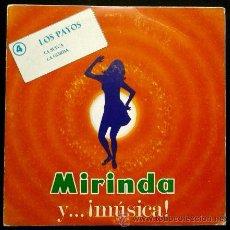 Discos de vinilo: LOS PAYOS (SINGLE MIRINDA 1969) - LA SUECA / LA GORDA (MUY BUEN ESTADO). Lote 51189529