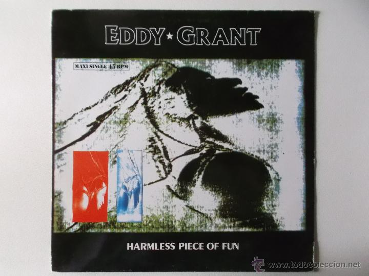 EDDY GRANT - HARMLESS PIECE OF FUN - 1988 (Música - Discos de Vinilo - Maxi Singles - Reggae - Ska)