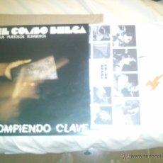 Discos de vinilo: LP EL COMBO BELGA FIRMADO POR DOS DEL GRUPO. Lote 51195234