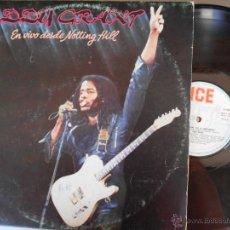 Discos de vinilo: DOBLE LP DE EDDY GRANT EN VIVO DESDE NOTTING HILL-PORT.ABIERTA-(ESPAÑOL,1982). Lote 51197588