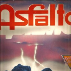 Discos de vinilo: LP ASFALTO (RARISIMA RECOPILACION DE 1989) CAPITAN TRUENO, SEÑOR VIOLENTO, MUJER DE PLASTICO, ETC . Lote 51198066