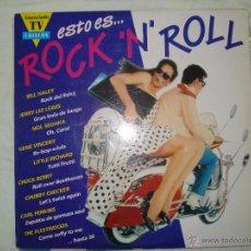 Discos de vinilo: ESTO ES ROCK ´N´ROLL , 2 LP. Lote 62578696
