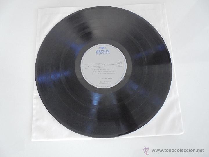 Discos de vinilo: MAESTROS DEL ORGANO ANTERIORES A J.S.BACH. HELMUT WALCHA. 4 DISCOS MAS LIBRETO. VER FOTOGRAFIAS. - Foto 14 - 51202591