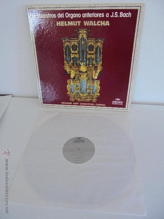 Discos de vinilo: MAESTROS DEL ORGANO ANTERIORES A J.S.BACH. HELMUT WALCHA. 4 DISCOS MAS LIBRETO. VER FOTOGRAFIAS. - Foto 22 - 51202591
