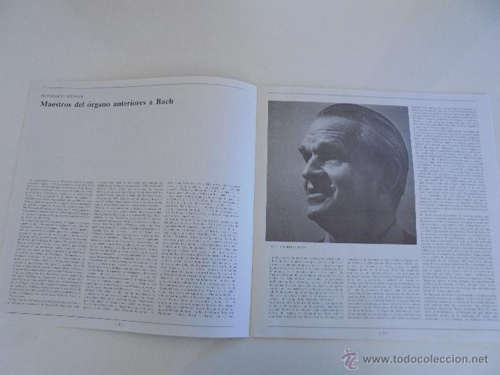 Discos de vinilo: MAESTROS DEL ORGANO ANTERIORES A J.S.BACH. HELMUT WALCHA. 4 DISCOS MAS LIBRETO. VER FOTOGRAFIAS. - Foto 29 - 51202591