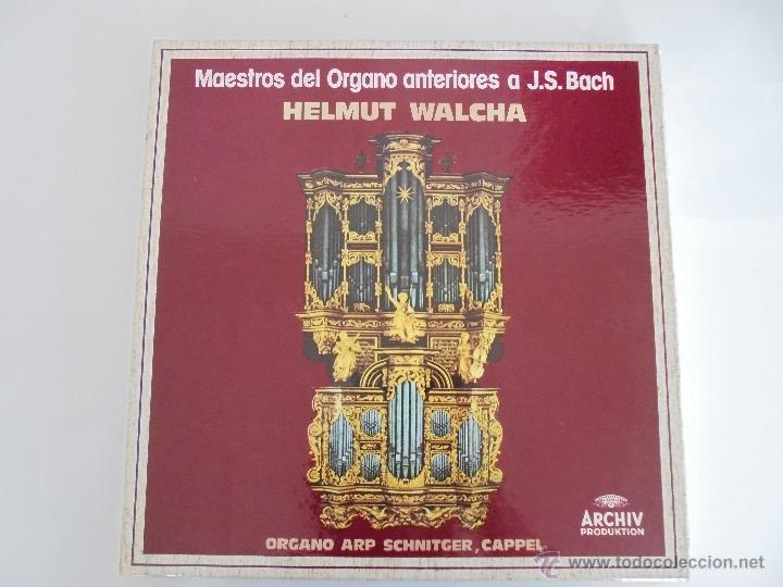 Discos de vinilo: MAESTROS DEL ORGANO ANTERIORES A J.S.BACH. HELMUT WALCHA. 4 DISCOS MAS LIBRETO. VER FOTOGRAFIAS. - Foto 36 - 51202591