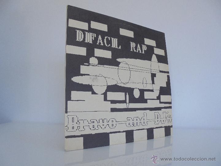 DIFACIL RAP BRAVO AND DJ`S. DEDICADO POR LOS AUTORES. VER FOTOGRAFIAS ADJUNTAS. (Música - Discos - Singles Vinilo - Rap / Hip Hop)