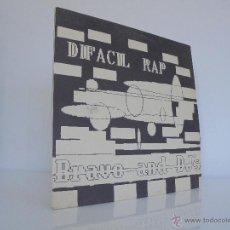 Discos de vinilo: DIFACIL RAP BRAVO AND DJ`S. DEDICADO POR LOS AUTORES. VER FOTOGRAFIAS ADJUNTAS.. Lote 51206466