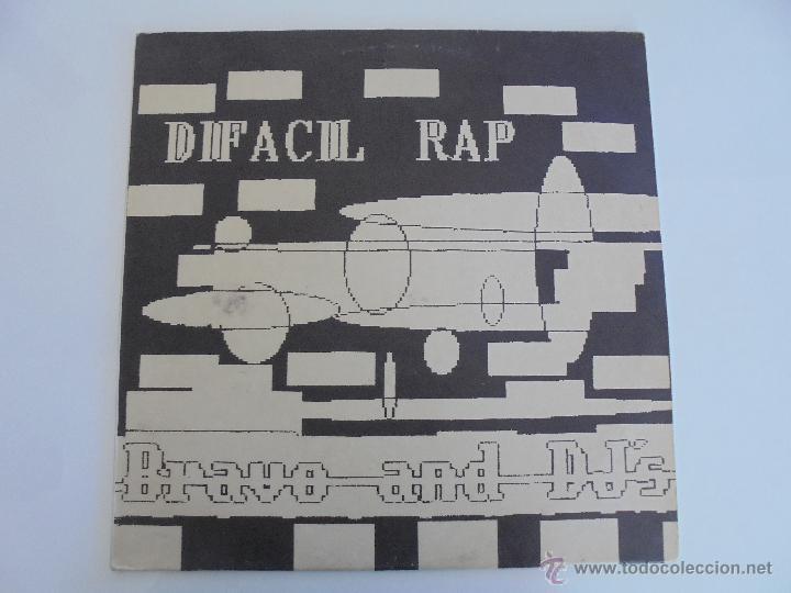 Discos de vinilo: DIFACIL RAP BRAVO AND DJ`S. DEDICADO POR LOS AUTORES. VER FOTOGRAFIAS ADJUNTAS. - Foto 2 - 51206466