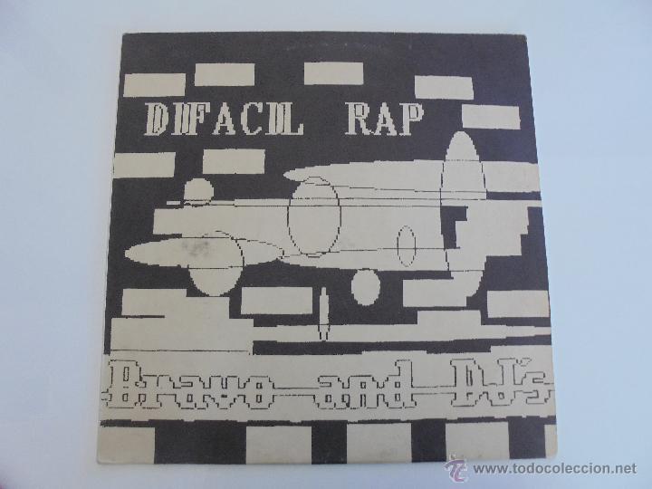 Discos de vinilo: DIFACIL RAP BRAVO AND DJ`S. DEDICADO POR LOS AUTORES. VER FOTOGRAFIAS ADJUNTAS. - Foto 3 - 51206466