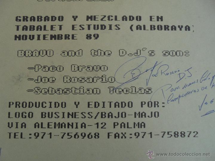 Discos de vinilo: DIFACIL RAP BRAVO AND DJ`S. DEDICADO POR LOS AUTORES. VER FOTOGRAFIAS ADJUNTAS. - Foto 12 - 51206466