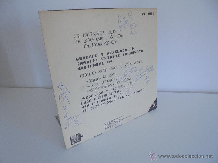 Discos de vinilo: DIFACIL RAP BRAVO AND DJ`S. DEDICADO POR LOS AUTORES. VER FOTOGRAFIAS ADJUNTAS. - Foto 14 - 51206466