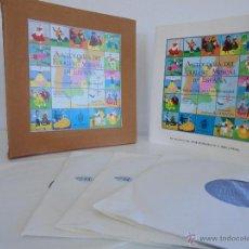 Discos de vinilo: ANTOLOGIA DEL FOLKLORE MUSICAL DE ESPAÑA. 4 DISCOS MAS DOS LIBRETOS. VER FOTOGRAFIAS . M.Gª. MATOS.. Lote 51207114