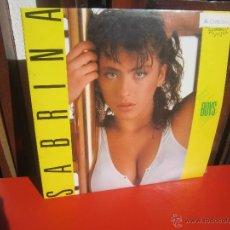 Discos de vinilo: SABRINA - BOYS - INDALO MUSIC - AÑO 1987 - LP - [VG+/VG++]. Lote 206495466