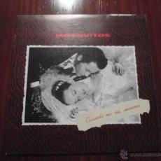 Discos de vinilo: MOSQUITOS - CUANDO NO SEA INVIERNO. SINGLE TWINS S.A., 1990. Lote 51211324