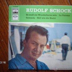 Discos de vinilo: RUDOLF SCHOCK - ES MUSS EIN WUNDERBARES SEIN + LA PALOMA + 2. Lote 51211385