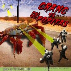 Discos de vinilo: CRANC VS GO!POPITAS SPLIT (SINGLE) . PUNK ROCK RAMONES QUEERS RIVERDALES SHOCK TREATMENT. Lote 217824666