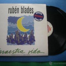 Discos de vinilo: RUBEN BLADES MAESTRA VIDA DOBLE LP SPAIN 1980 PDELUXE. Lote 51216561