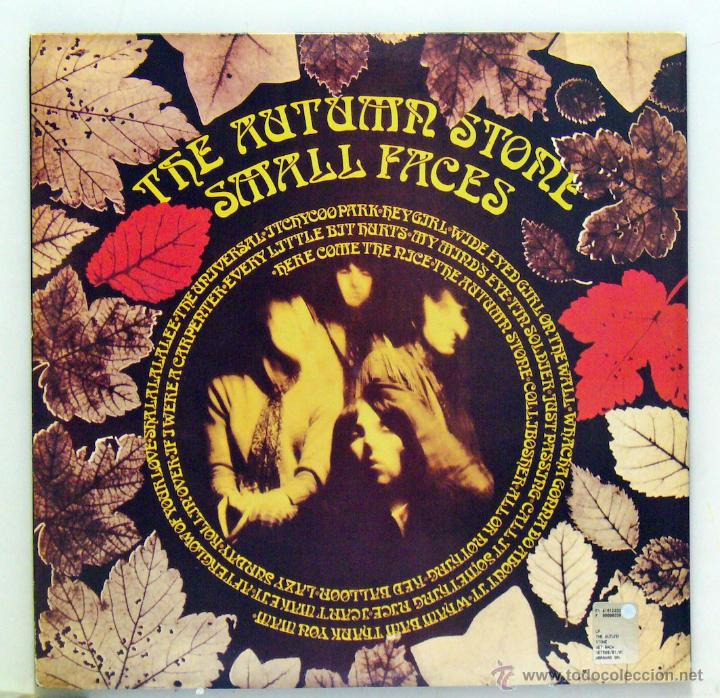 Discos de vinilo: Small Faces - 'The Autumn Stone' (LP Doble carpeta abierta. Reedición. Italia) - Foto 2 - 51220578