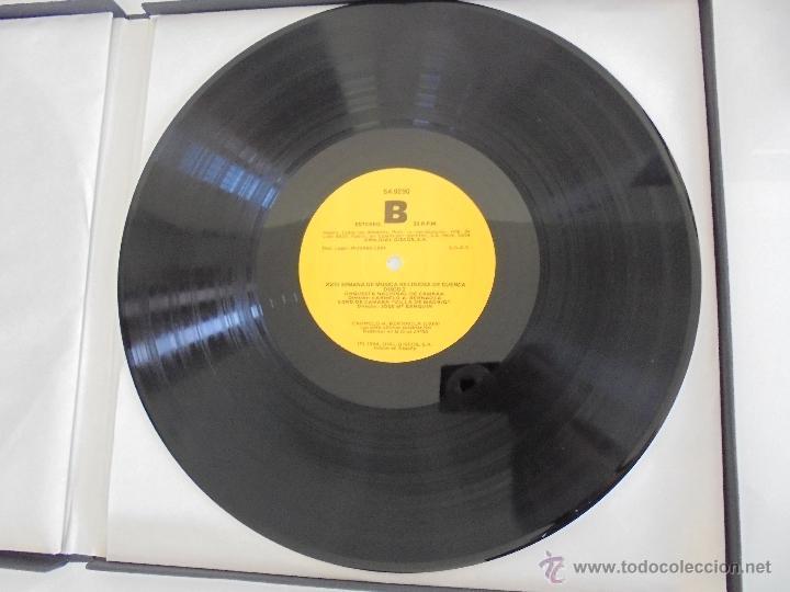 Discos de vinilo: SEMANA DE MUSICA RELIGIOSA DE CUENCA XXI, XXII Y XXIII. NUEVE DISCOS DOS ESTUCHES. VER FOTOGRAFIAS - Foto 14 - 51223857