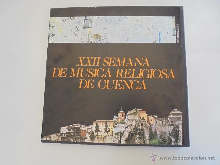 Discos de vinilo: SEMANA DE MUSICA RELIGIOSA DE CUENCA XXI, XXII Y XXIII. NUEVE DISCOS DOS ESTUCHES. VER FOTOGRAFIAS - Foto 17 - 51223857